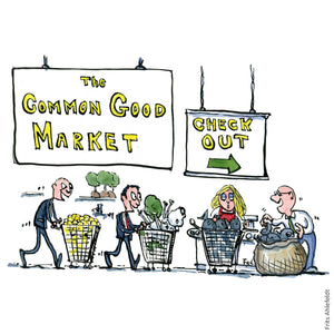 The common good marked illustration by Frits Ahlefeldt