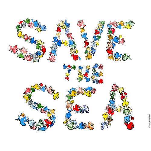 Download Fish save the sea illustration
