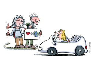 Download More people sharing cars for a better environment illustration