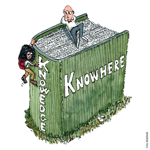 Di00078 Download Knowhere vs knowedge knowledge illustration