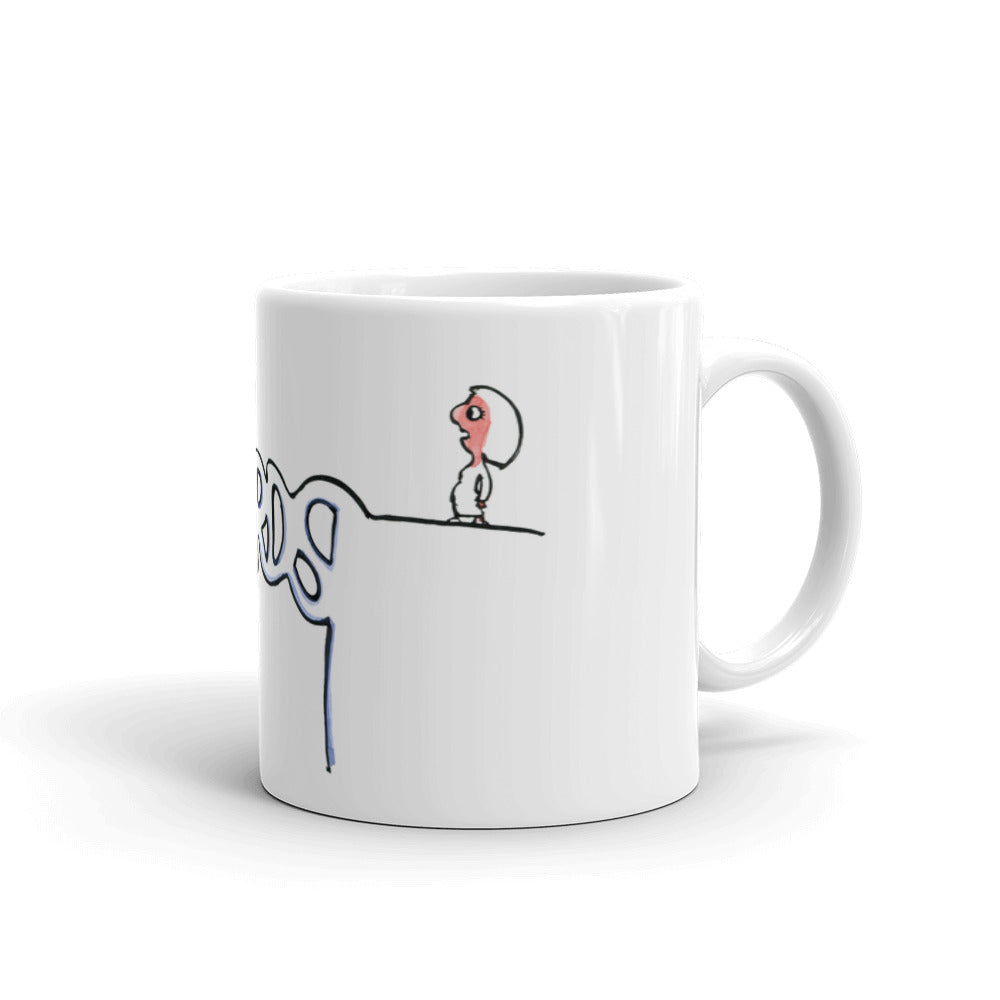 Bridge as Words Mug
