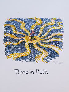 Time as Path Original illustration