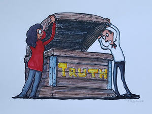 Truth Box Original Illustration