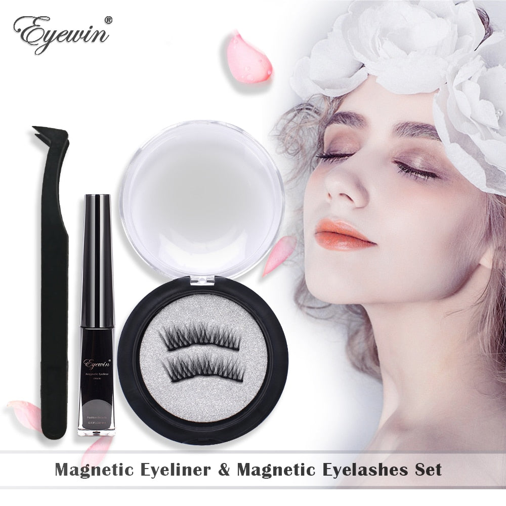 MAGNETIC WATERPROOF FALSE EYELASHES KIT
