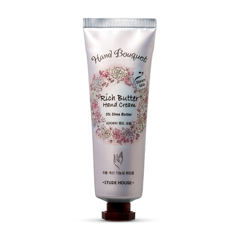 ETUDE HOUSE Hand Bouquet Rich Butter Hand Cream 50ml - Beautihara