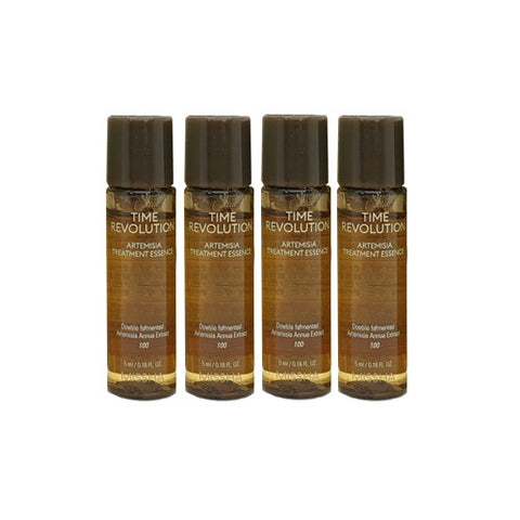 MISSHA Time Revolution Artemisia Treatment Essence 5ml x 4Pcs - Beautihara