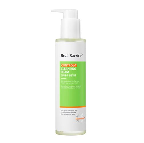 REAL BARRIER Control-T Cleansing Foam 180ml - Beautihara