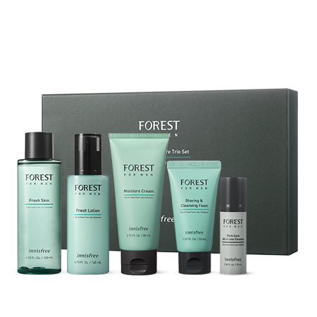 innisfree Forest For Men Moisture Skin Care Trio Set