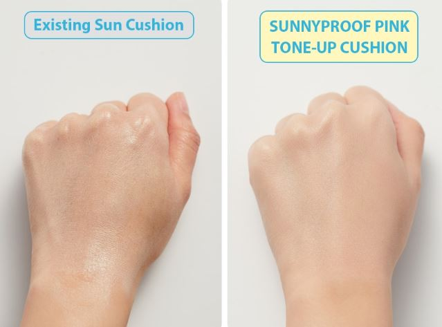 Peripera Sunnyproof Pink Tone Up Sun Cushion 13g (SPF50+ PA++++) - Beautihara