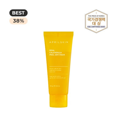 APRILSKIN Real Calendula Peel Off Pack 100g - Beautihara
