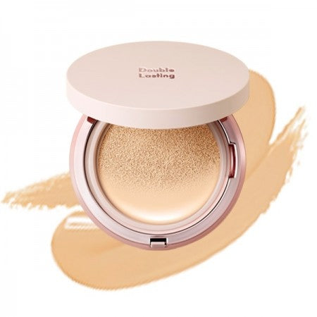 ETUDE HOUSE Double Lasting Cushion Glow 15g (6 Shades) - Beautihara