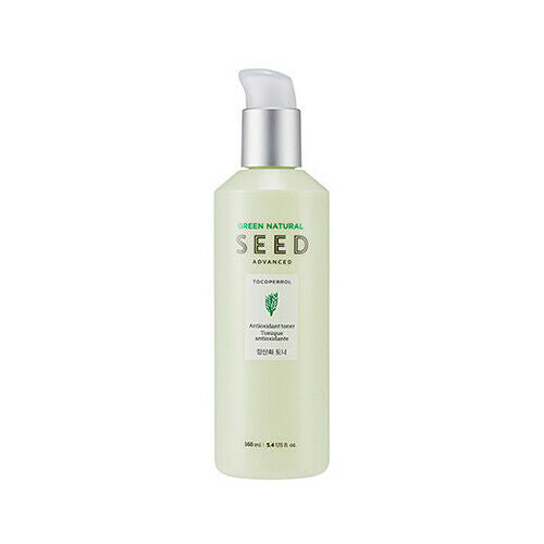 THE FACE SHOP Green Natural Seed Advanced Antioxidant Toner 160ml - Beautihara