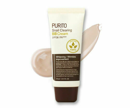 PURITO Snail Clearing BB Cream 30ml (3 colors) - Beautihara