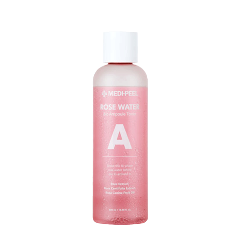 MEDIPEEL Rose Water Bio Ampoule Toner - 500ml - Beautihara