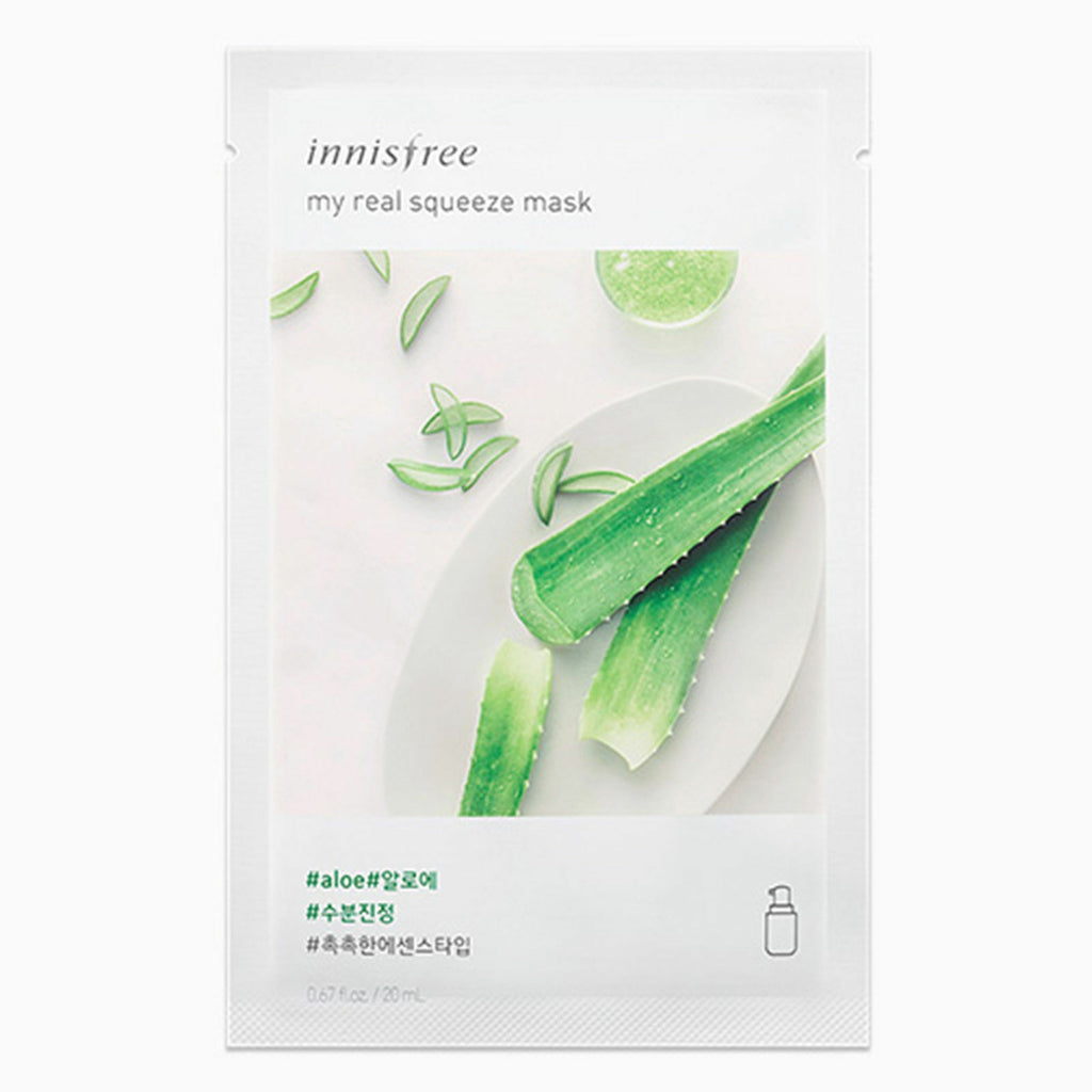 innisfree My Real Squeeze Mask Combo 18 Sheets (18 types) 20ml*18EA - Beautihara