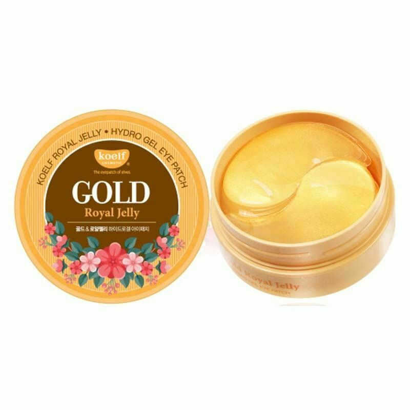 KOELF Eye Patch 3 Type Gold Royal Jelly & Ruby Bulgarian & Pearl Shea butter
