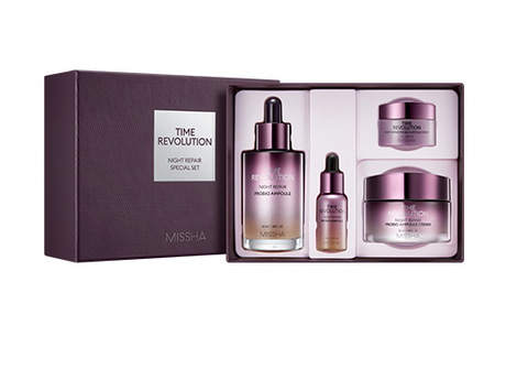 MISSHA Time Revolution Night Repair Special Set - Beautihara