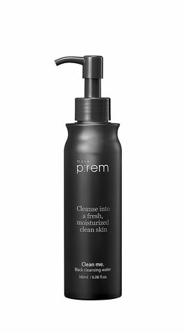 MAKE P:REM Clean Me. Black Cleansing Water 180ml - Beautihara