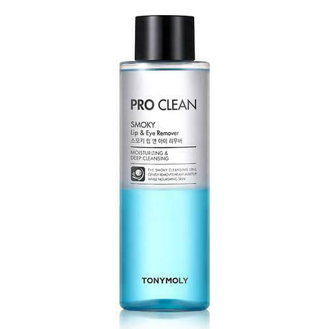 TonyMoly Pro Clean Smoky Lip & Eye Remover - 250ml - Beautihara