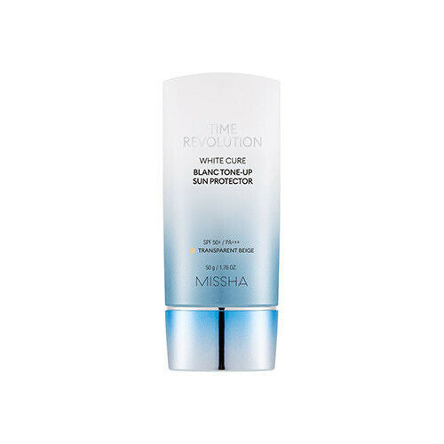 MISSHA Time Revolution White Cure Blanc Tone-Up Sun Protector SPF50+ / PA+++ - Beautihara