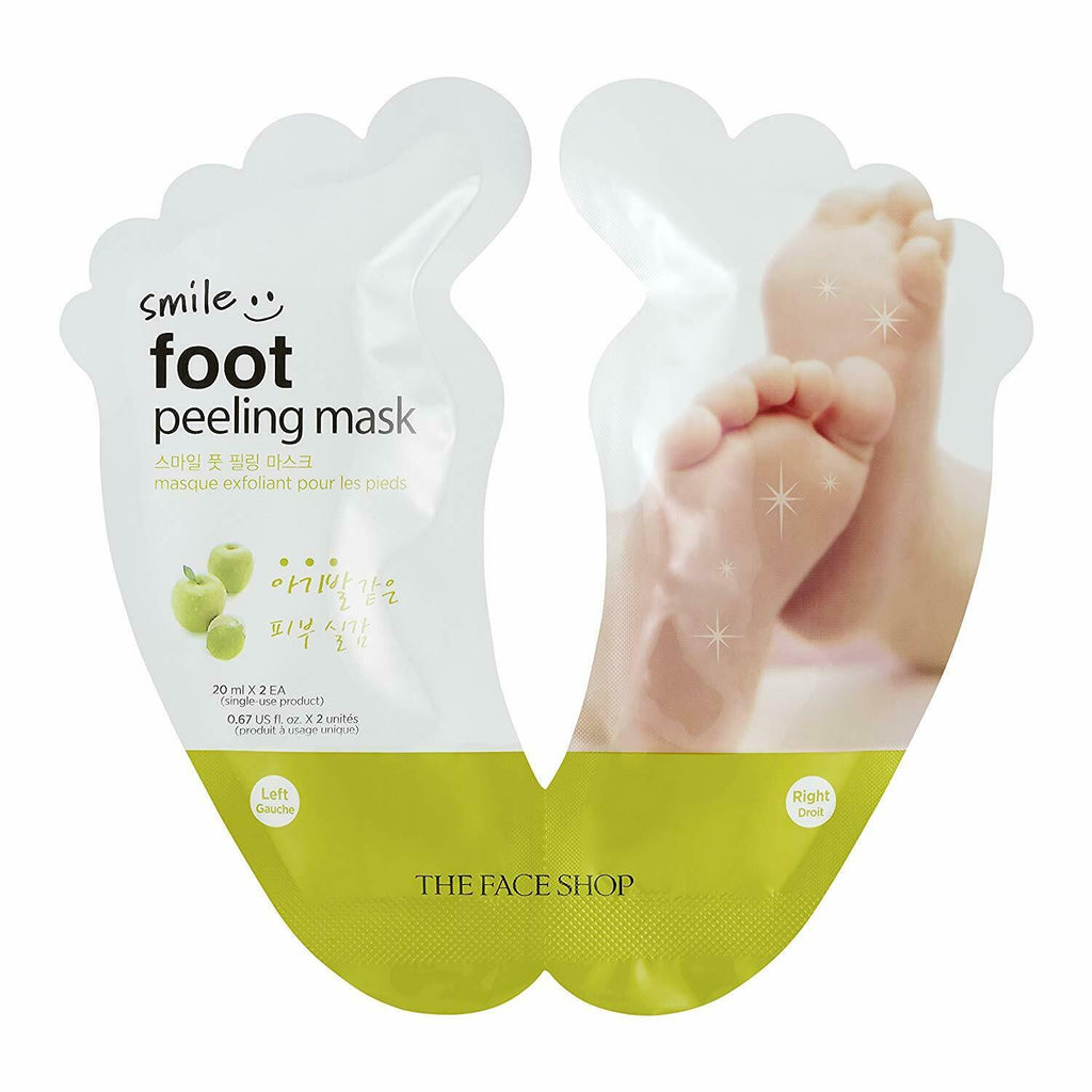 THE FACE SHOP Smile Foot Peeling 20ml X 2 - Beautihara