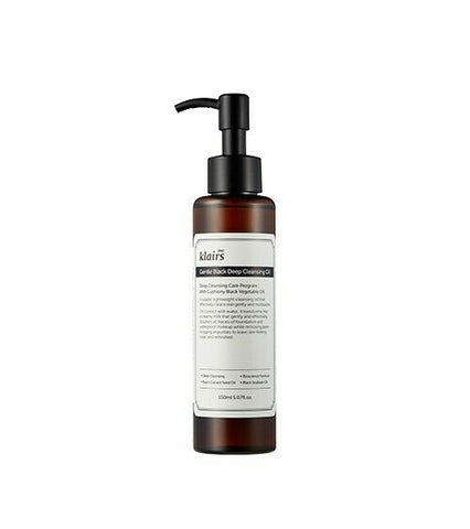 Klairs Gentle Black Deep Cleansing Oil -150mL - Beautihara