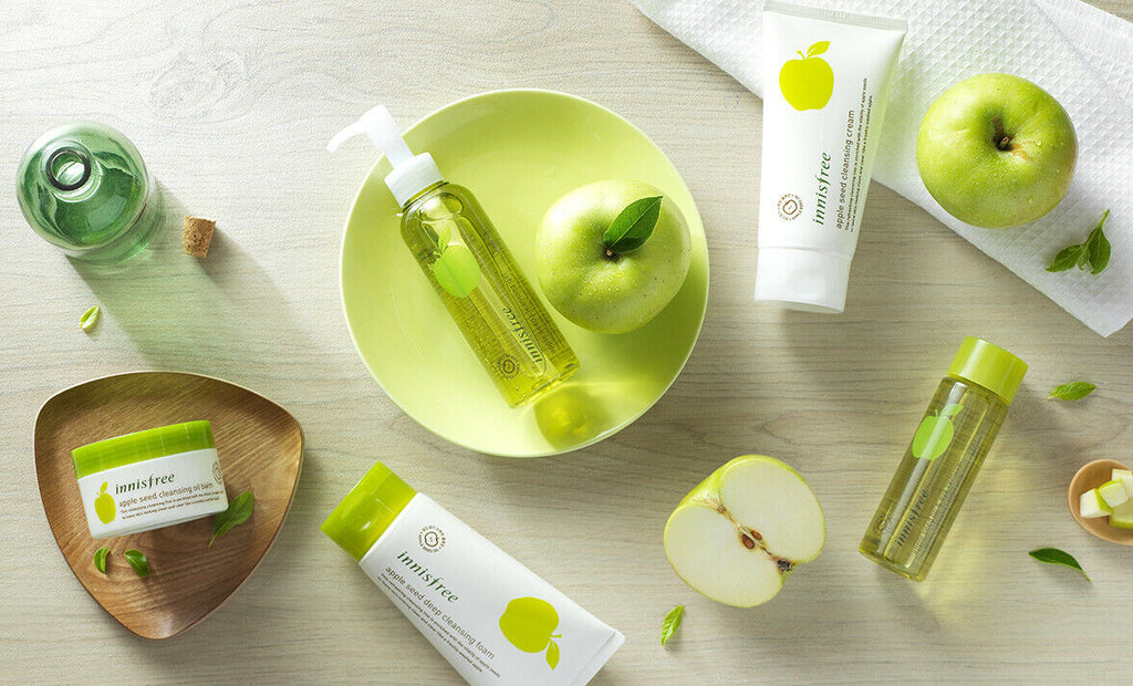 innisfree Apple Seed Lip & Eye Makeup Remover Tissue (30 sheets) - Beautihara