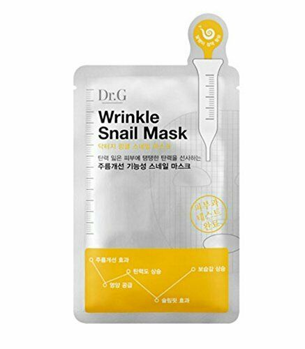 Dr.G Wrinkle Snail Mask 25ml*5EA (5 Sheet) - Beautihara