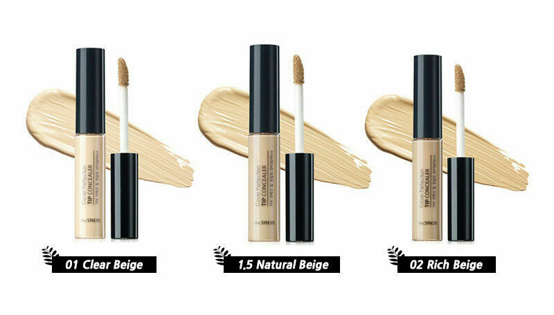 the SAEM Cover Perfection Tip Concealer 6.5g (SPF28 PA++) - Beautihara