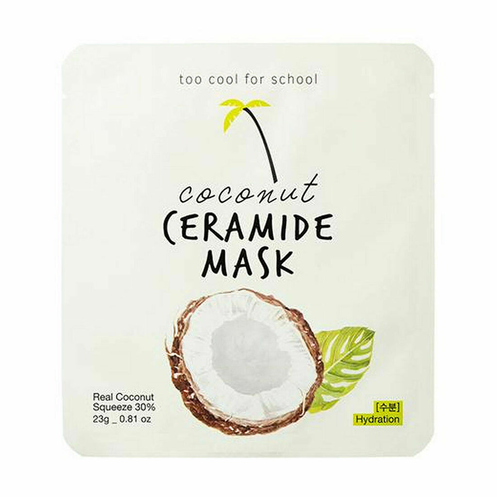 TOO COOL FOR SCHOOL Coconut Ceramide & Water Gel & Milk Cream & Oil Serum Mask - Beautihara