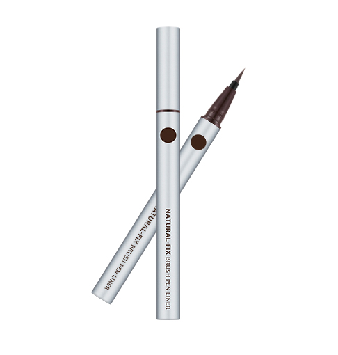 MISSHA Natural Fix Brush Pen Liner 0.6g (2 Colors) - Beautihara