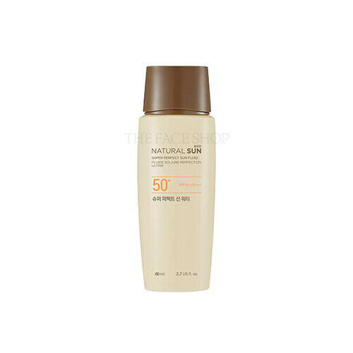 THE FACE SHOP Natural Sun Eco Super Perfect Sun Water 80ml - Beautihara