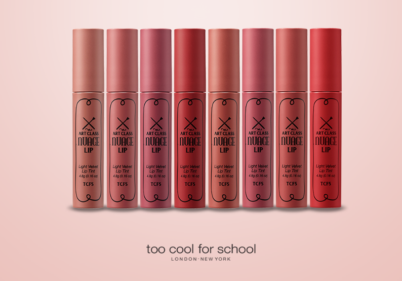 TOO COOL FOR SCHOOL Art Class Nuage Lip 4.8g (8 Color) - Beautihara