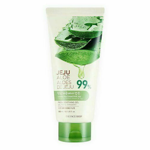 THE FACE SHOP Jeju Aloe Fresh Soothing Gel (Tube) 300ml - Beautihara