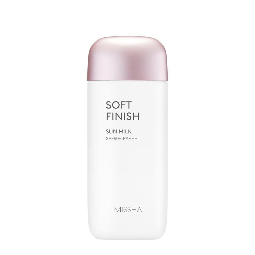 MISSHA All Around Safe Block Soft Finish Sun Milk 70ml (SPF50+ PA+++) - Beautihara