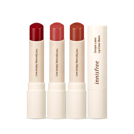 innisfree Simple Label Lip Color Balm 3.2g - Beautihara