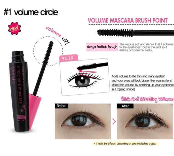 TONYMOLY Delight Circle Lens Mascara - 8.5g - Beautihara