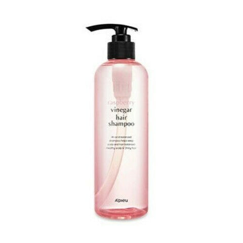 A'PIEU Raspberry Vinegar Hair Shampoo 500ml - Beautihara