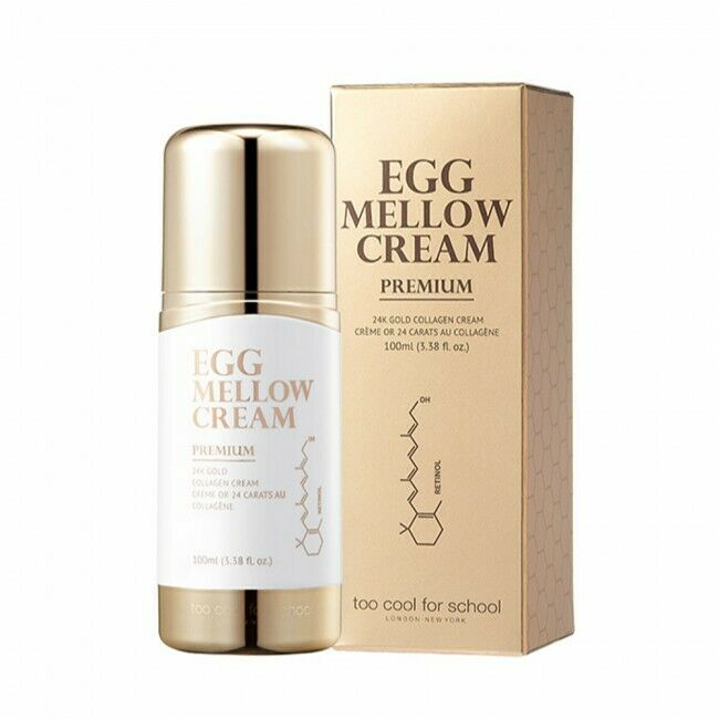 TOO COOL FOR SCHOOL Egg Mellow Cream Premium 100ml - Beautihara