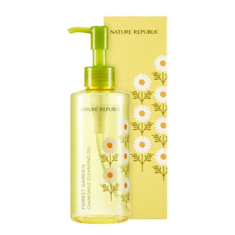 Nature Republic Forest Garden Chamomile Cleansing Oil 200ml - Beautihara