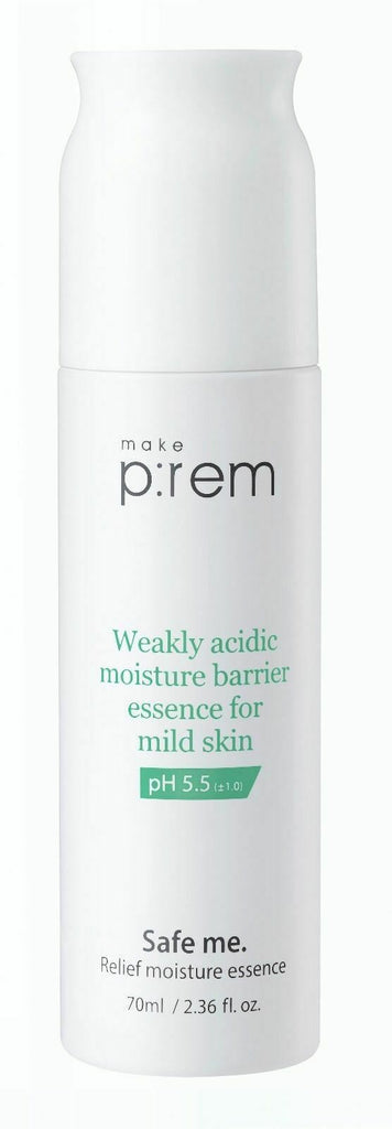 MAKE P:REM Safe me. Relief moisture Essence 70ml - Beautihara