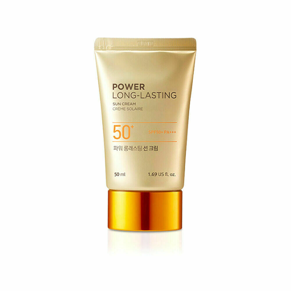THE FACE SHOP Power Long- Lasting Sun Cream - 50ml & 80ml - Beautihara
