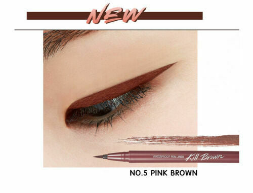 CLIO Waterproof Pen Liner Original 0.55ml (6 Color) - Beautihara