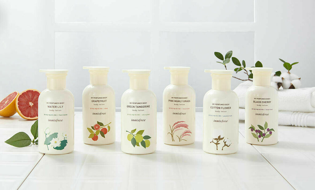 innisfree My Perfumed Body Body Lotion 330ml (6 Option) - Beautihara