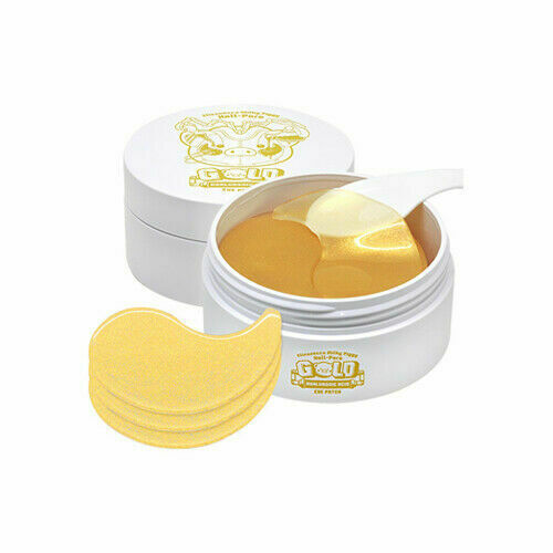 ELIZAVECCA Milky Piggy Hell-Pore Gold Hyaluronic Acid Eye Patch - 90g - Beautihara