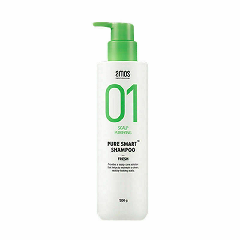 AMOS Professional Pure Smart Shampoo (Fresh) - 80g / 500g - Beautihara