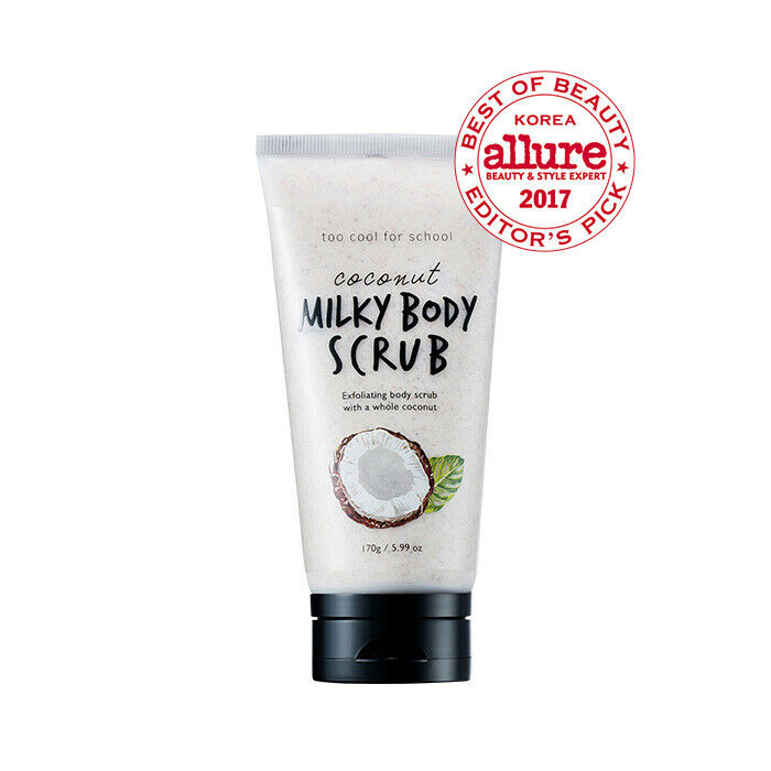 TOO COOL FOR SCHOOL Coconut Milky Body Scrub 170g - Beautihara