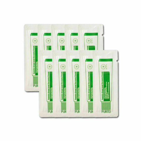 PURITO Centella Green Level Recovery Cream sample 10pcs - Beautihara