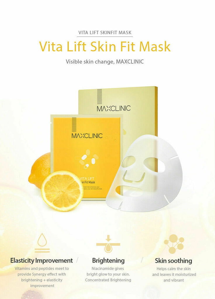 MAXCLINIC Vita Lift Skin Fit Mask - 19ml - Beautihara
