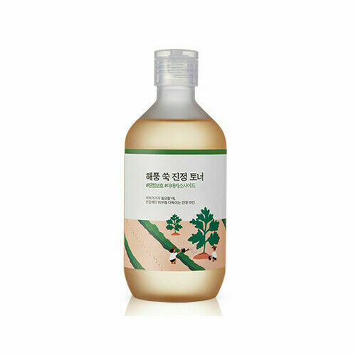 ROUND LAB Mugwort Calming Toner 300ml - Beautihara